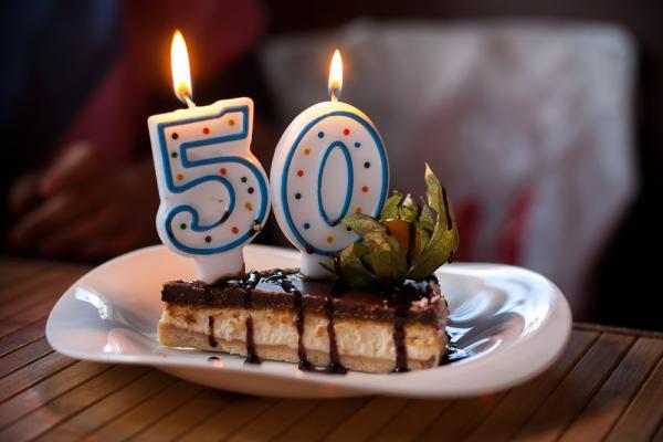 50不是恐怖的數字,而是值得慶祝的年紀