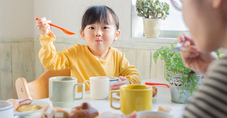 養成好「食」力,這3招讓孩子不挑食!