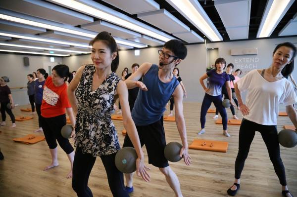 【50+學院x SPACE】Barre芭蕾健身課 活動花絮