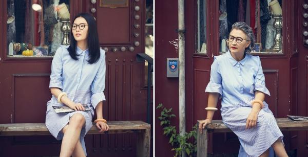 挑對風格眼鏡,60歲和20歲一樣美!