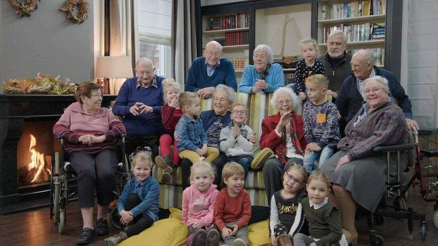 【荷蘭怎麼老】幼稚園小童探班療養院!老的變快樂,小的學社交
