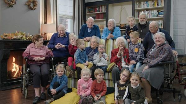 幼稚園小童探班療養院!老的變快樂,小的學社交
