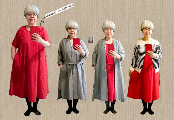 61歲日本主婦研究,讓白髮變可愛的穿搭術