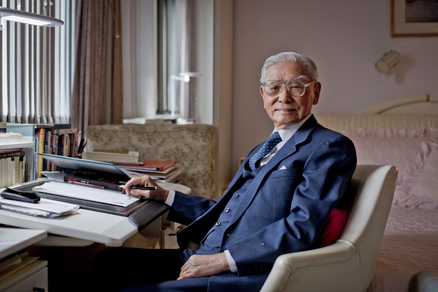 如何老得有質感?101歲人瑞張祖詒:秘訣4個字,「聽太太話」