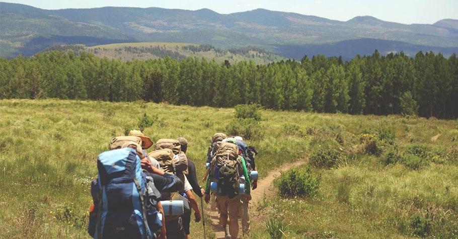 親子一日遊:雜亂的心情留給山來梳理