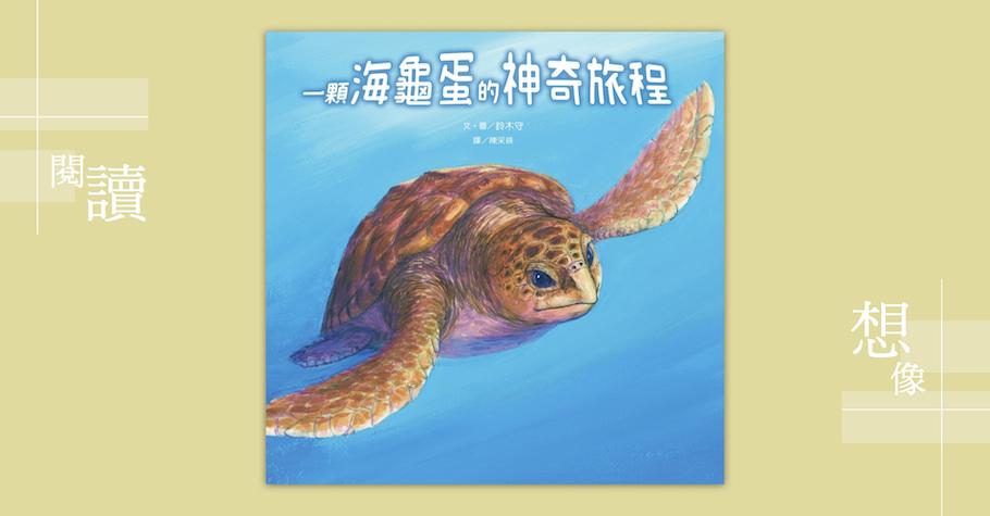 《一顆海龜蛋的神奇旅程》——用畫的紀錄片