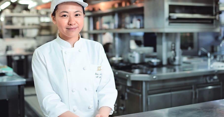 STAGIAIRE主廚 傅昭蓉:高職開始學,靠熱情、努力勝出