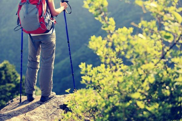 如何爬山才燃脂又保護膝蓋?教練傳授:上下坡步行與使用登山杖的正確方法