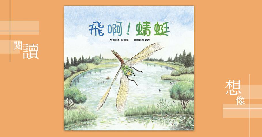 《飛啊!蜻蜓》——放低視角看水底世界
