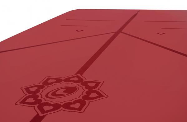 英國頂級LIFORME|經典瑜珈墊,限量紅色心型花紋、適合珍藏