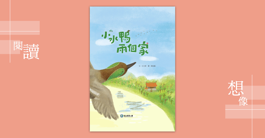 《小水鴨兩個家》——跟著小水鴨飛向國際
