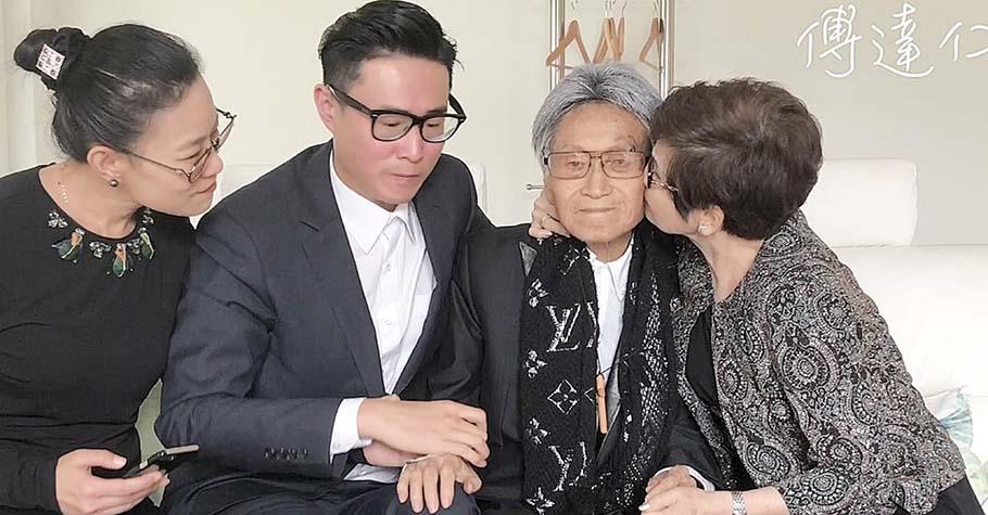 傅達仁的兒子:看著爸爸因病承受的痛苦,我放下希望他繼續陪伴我們的心,尊重他選擇安樂善終不留遺憾