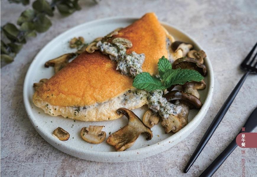 一個人下廚有8種快樂!單人優雅早餐蛋料理:松露舒芙蕾、豆皮雞蛋番茄燒