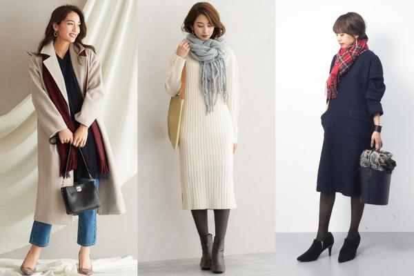 善用圍巾,讓秋冬衣著展現優雅感!讓造型更加分的選色技巧與4個穿搭小秘訣