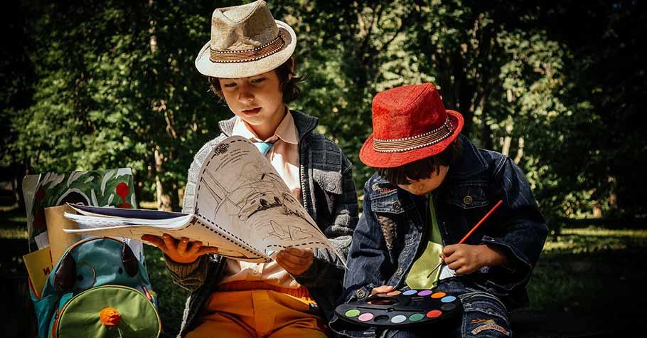 對孩子不用一直講道理,好的文學故事就是最好的教材