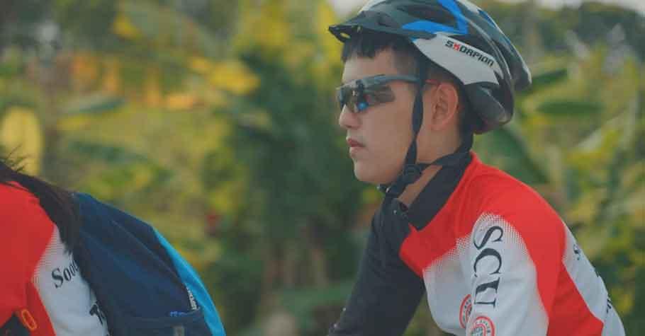 「因為你們,我才能看見」最勇敢熱血的畢業挑戰,東吳視障畢業生騎鐵馬環島,9天挑戰896公里