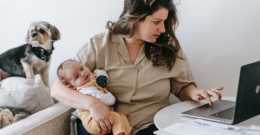 育嬰假結束後復職,公司說不會給付我職務加給... 職場媽媽感嘆:就算生了孩子,我也要認真工作,活出自己