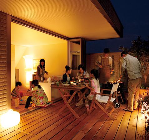 兩代獨立又不失親密的共住型態,日本二世帶住宅