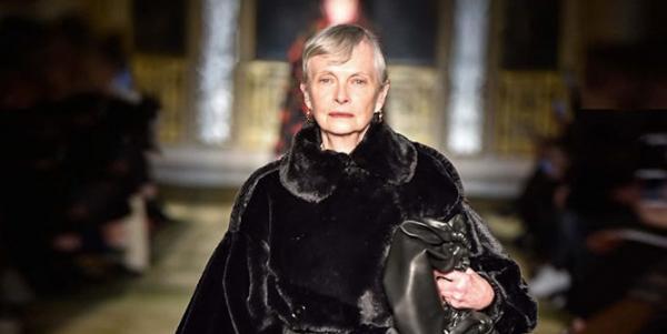 倫敦時尚週45歲以上模特兒的逆襲: 不完美,才是我們的美