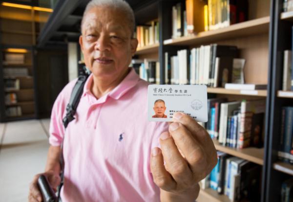 71歲讀高齡學研究所的陳堅志:不靠子女,自己學怎麼變老