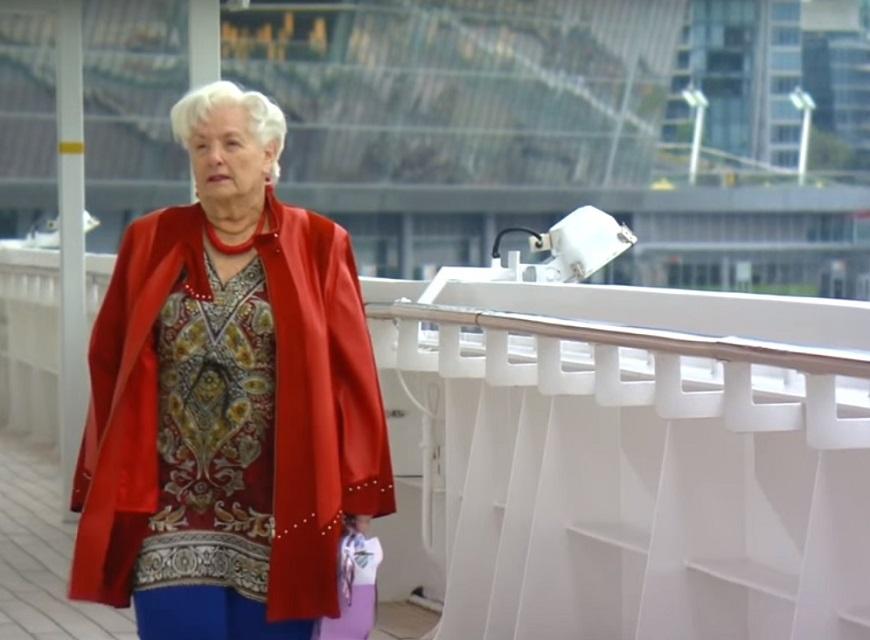 不靠子女、不住安養院,89歲美國奶奶如何以郵輪為家?
