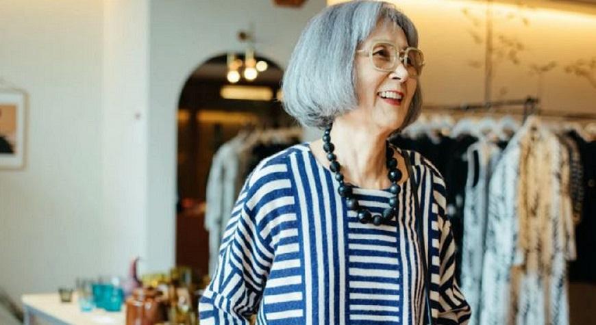 82歲選物店員時尚學 小畑滋子傳授:舒適又優雅,熟齡最適穿搭Sporty Elegance