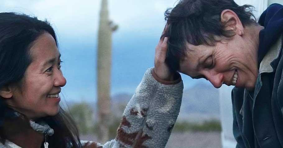 首位亞裔女性奪下奧斯卡最佳導演,趙婷《游牧人生》我總提醒自己:每個人的本性都是良善的