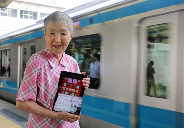 獨身造就「盡情人生」!82歲若宮正子自學開發APP,登上聯合國