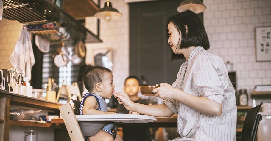 林姓主婦:我也曾經煮飯煮到厭世、孩子吃到厭食,後來我學會放過自己,在餐桌上我是媽媽,不是主考官