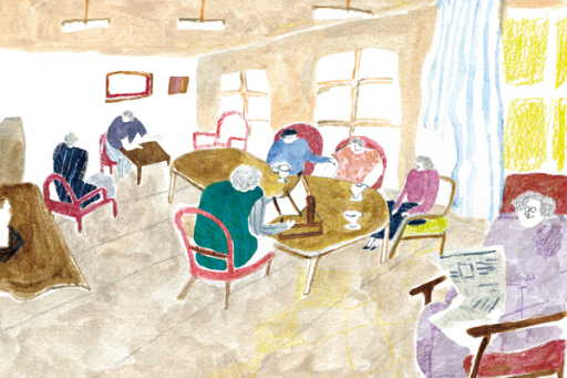 不讓老人失去笑容,日本、瑞典如何規畫像家一般的安養機構?