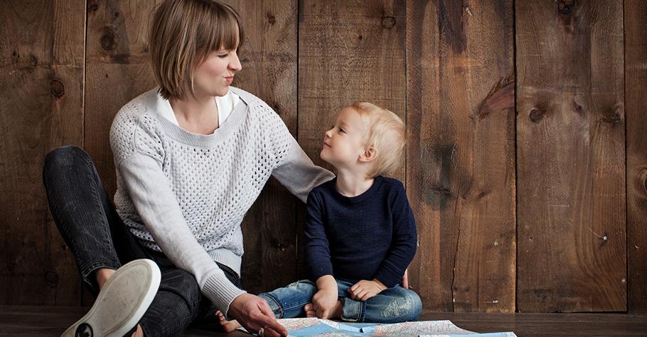 父母的陪伴是孩子成長過程中最好的禮物