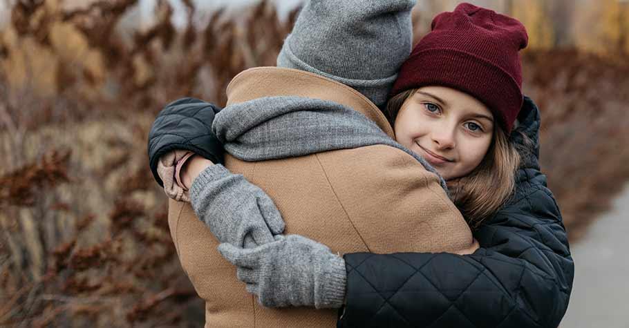 父母要耐心傾聽和陪伴,幫孩子找到面對困難的能力