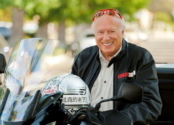 77歲不老騎士Peter Starr:一件快樂的事,會讓我想活得很久