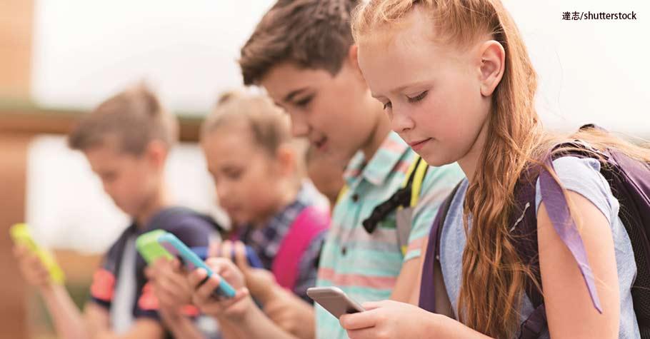 英國:科技入侵!中、小學生每2分鐘看一次手機