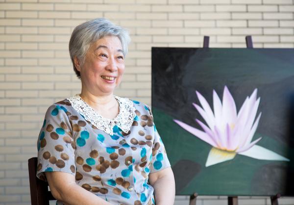 自願去住安養院!74歲油畫家陳豐美:為了「自由做自己」
