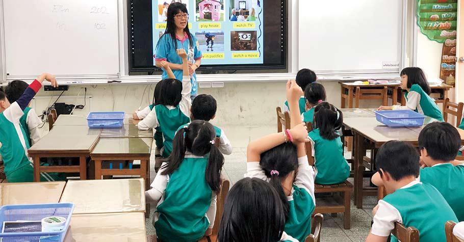 北市東新國小:雙語實驗課程,從小一到小三,逐年擴增