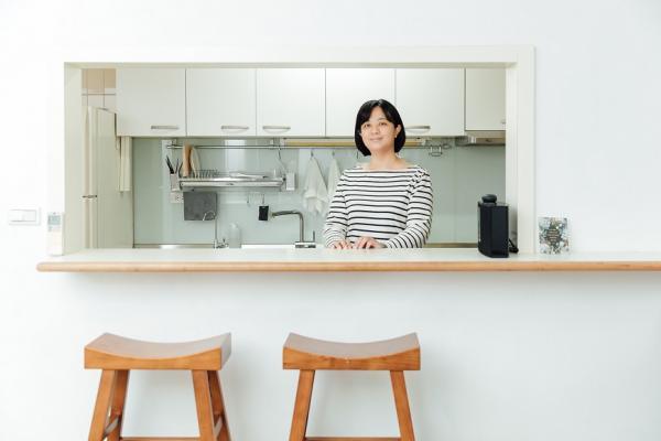 25萬預算,老公寓變身極簡美宅!主婦Nelly:最美的裝潢,是斷捨離後的清爽感