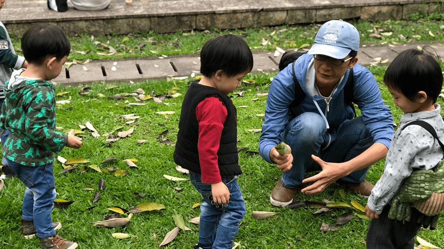 做對這7件事、當孩子的「專屬導遊」,在公園也能玩出大能力