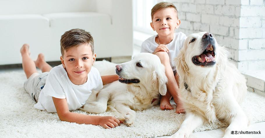 澳洲:狗狗是最好的朋友!養狗有助幼童社交、情緒發展