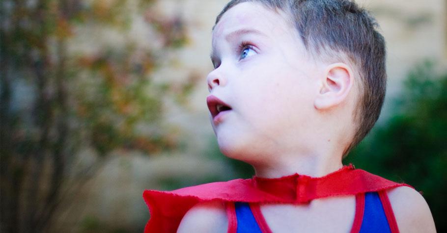 每個孩子都是閱讀小超人!