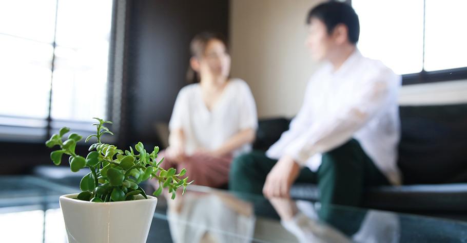 把老公的碎碎念視為一種訊號:「老公一定是在公司累積了不少壓力,好不容易回到家真是辛苦了!」