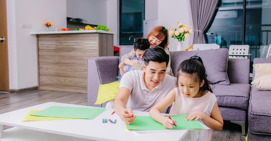 顏安秀:重要的是「孩子在我們陪伴引導下進步多少」,而不是給孩子全能萬能的父母