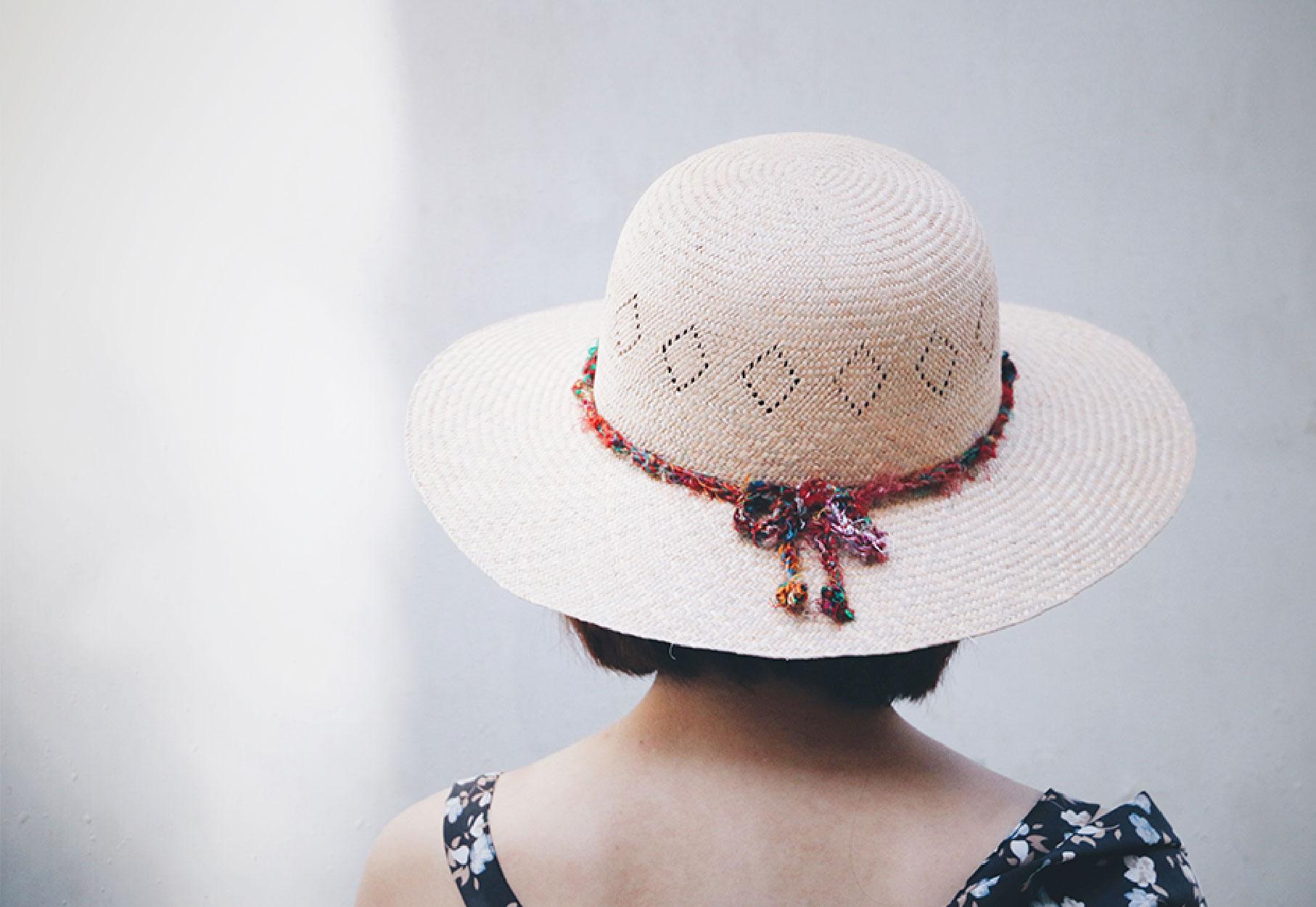 【50+選品】純手工藺草帽:遮陽的優雅