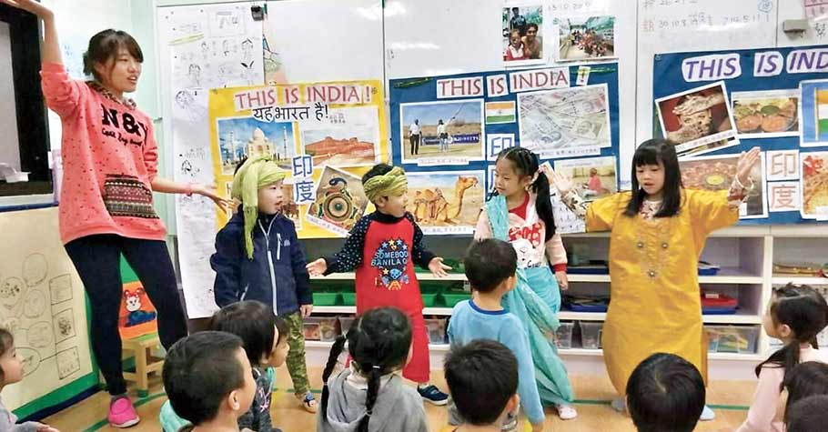 英語 幼稚園