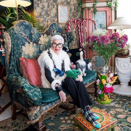 95歲的時尚網紅Iris Apfel的風格學:何苦追求美貌與青春?