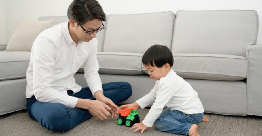 別當家中的大爺!每個人都是「家」中的一份子,老公幫忙分擔家務,有助於家人之間的感情聯繫,親子關係更緊密