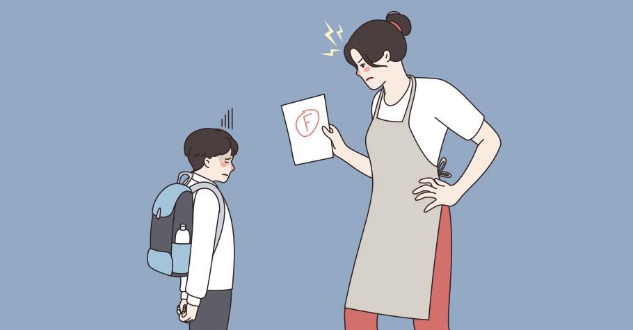 「這題很難嗎!」竟然還寫錯》孩子在自己知錯的狀況下,最不需要的是再多一個指責他的大人