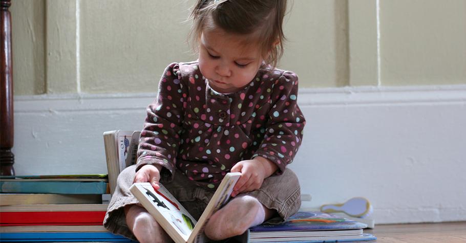 從「親子共讀0歲+」進步到「個人閱讀5歲+」的成長關鍵