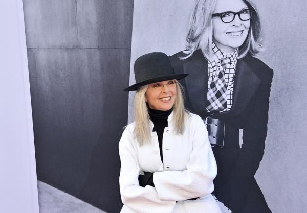 73歲黛安.基頓:什麼東西愈老愈適合對人展示?笑容和白髮