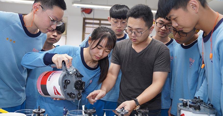 孩子對車輛和動力感興趣,樂於動手做,富實驗精神?來這間學校就對了!